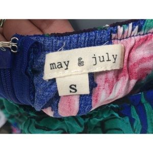May & July Dresses - Floral Dress